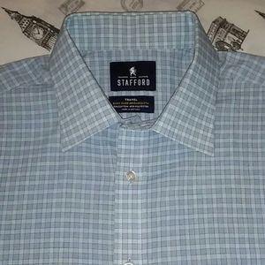 Stafford long sleeves dress shirt 16 34-35